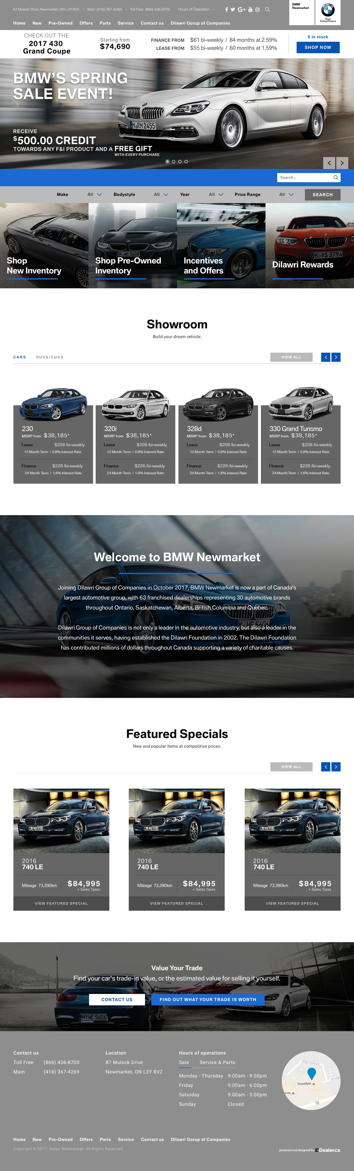 BMW Newmarket