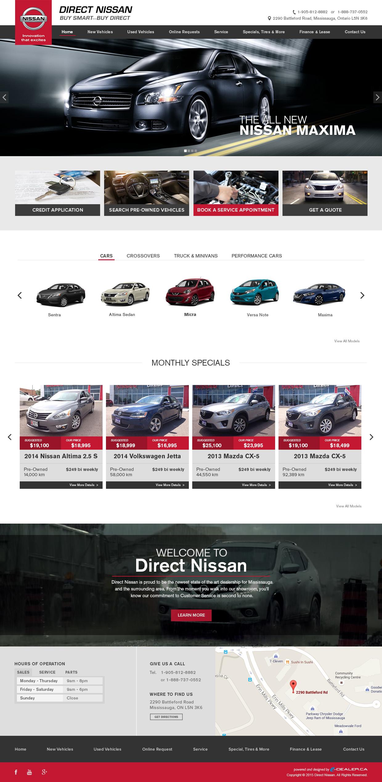 DirectNissan-DesktopDesign