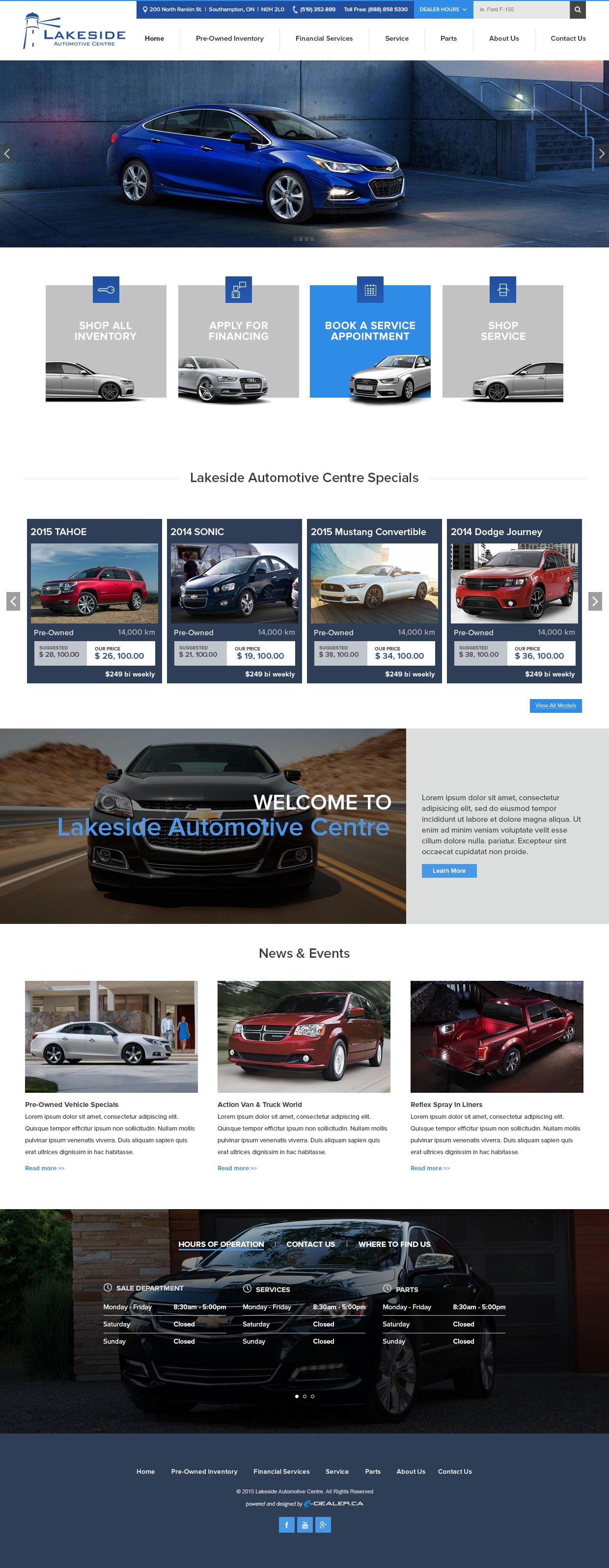 Lakeside-Automotive-Centre-Website
