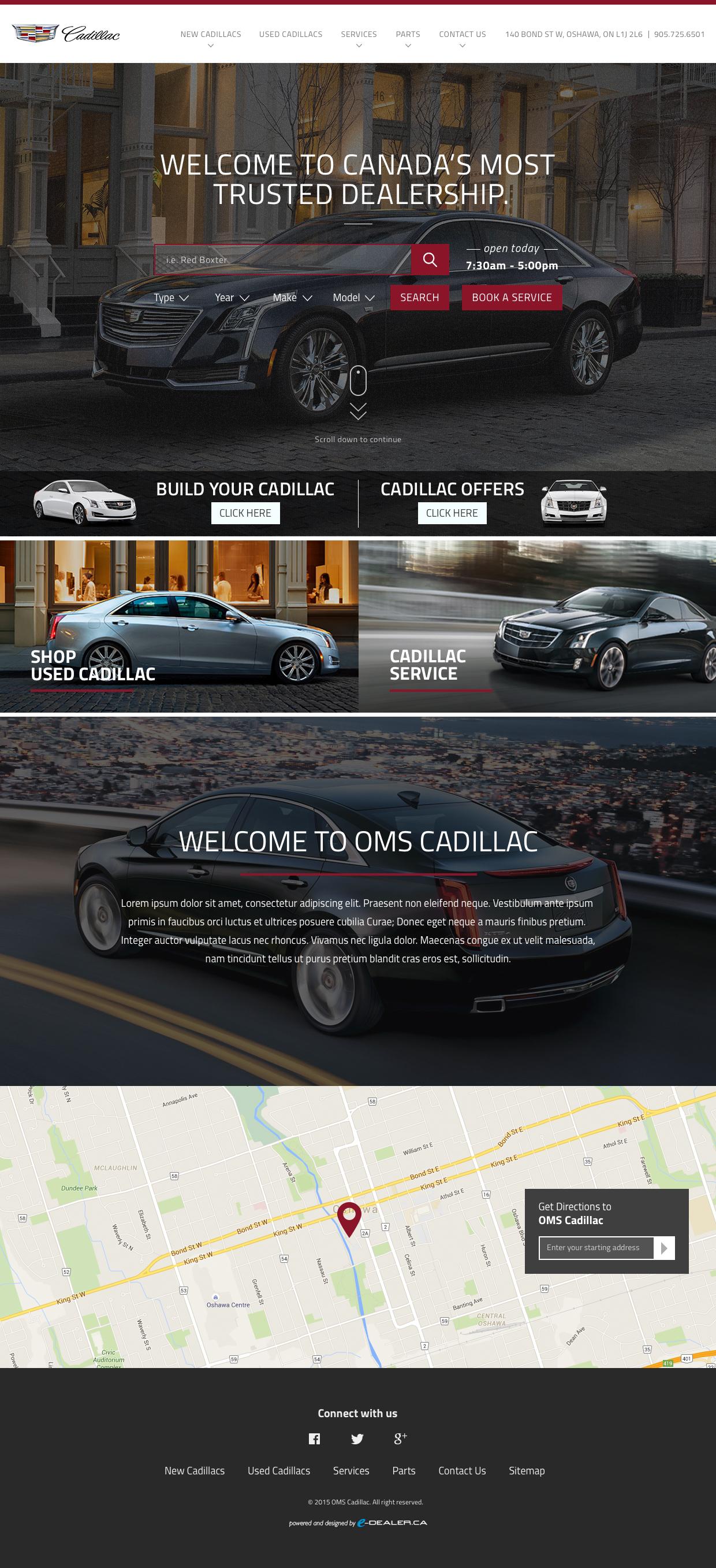 OMS Cadillac