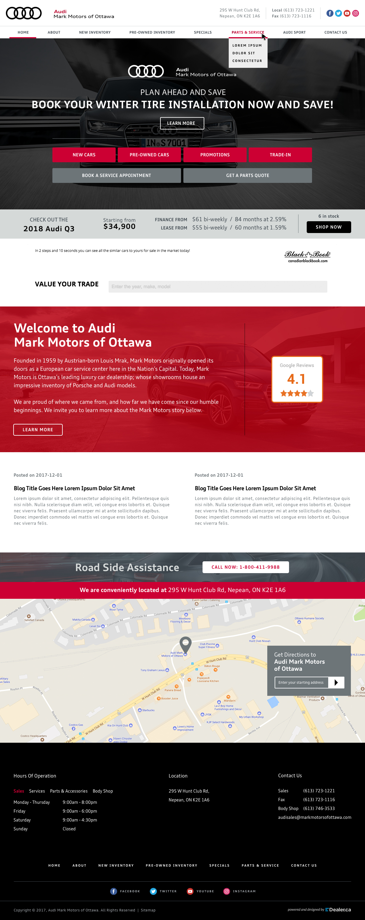 Audi Mark Motors Of Ottawa
