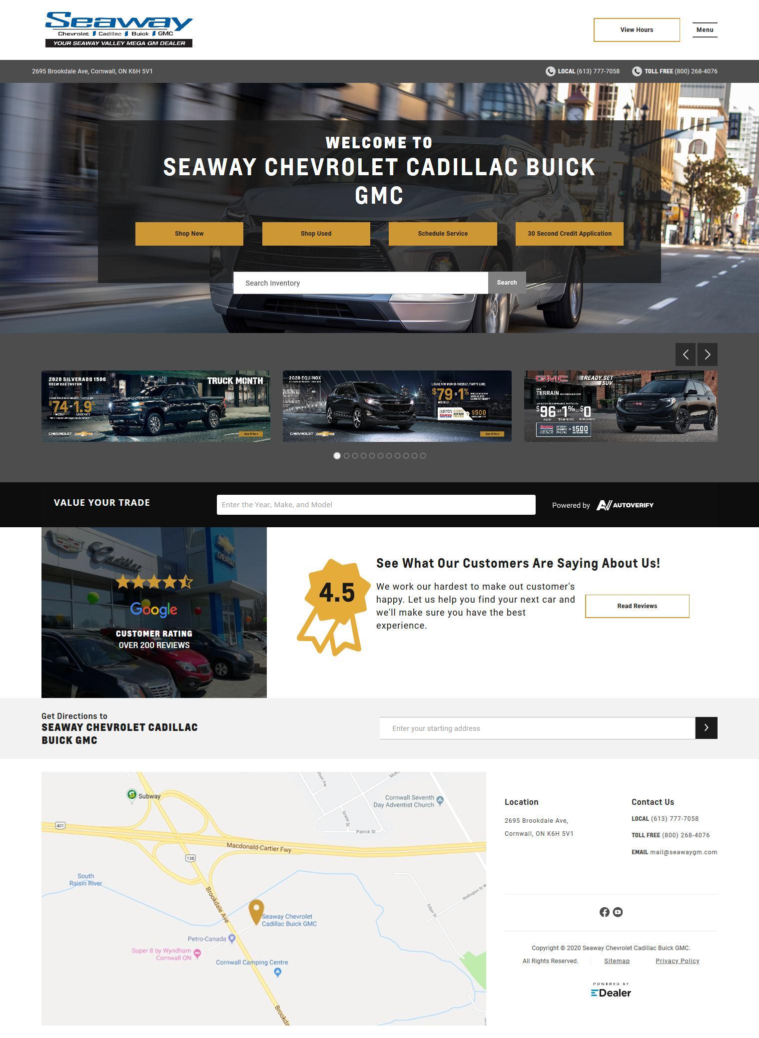 Seaway Chevrolet Cadillac Buick GMC Ltd