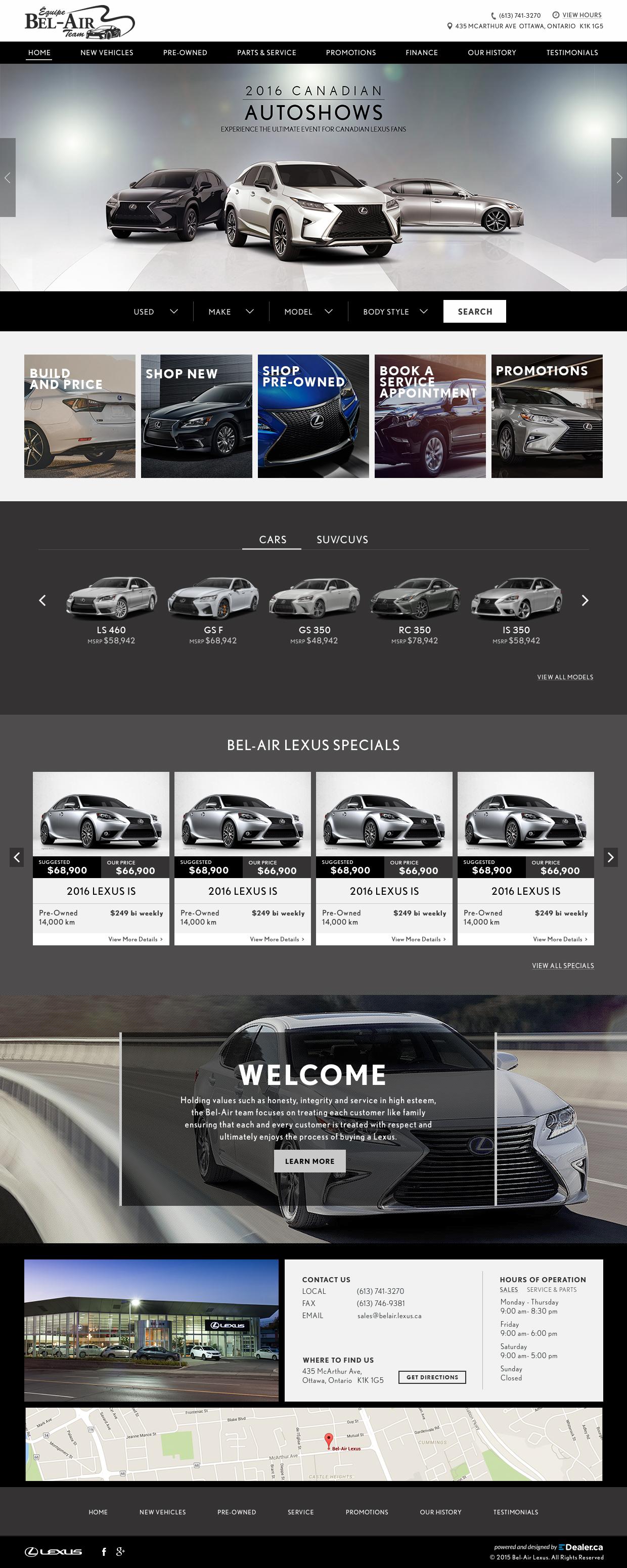 Bel-Air Lexus