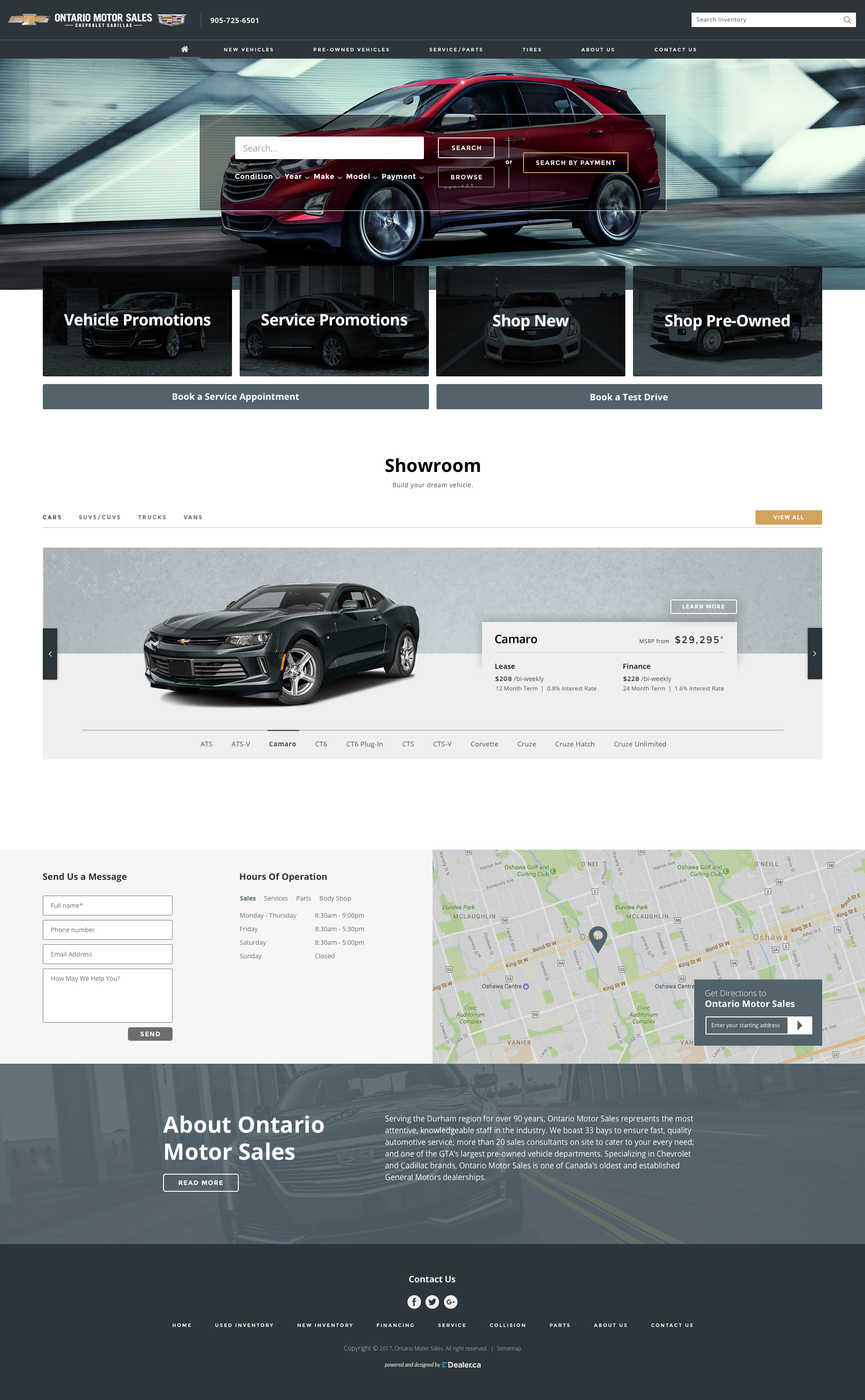 Ontario Motor Sales