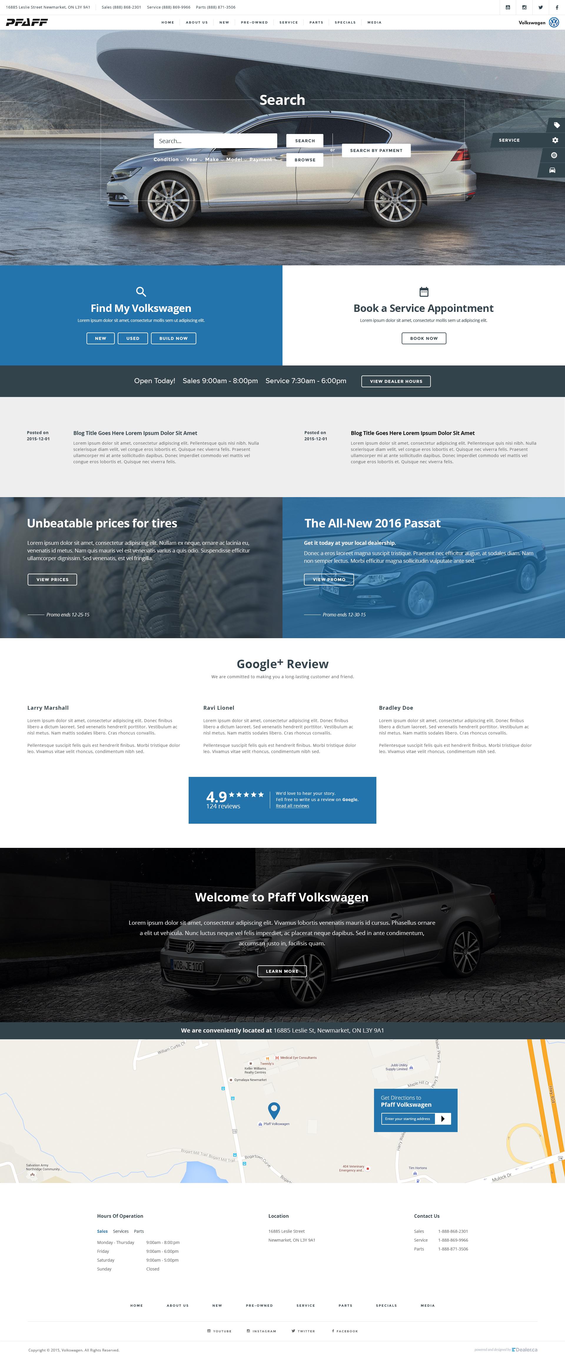 PFAFF Volkswagen