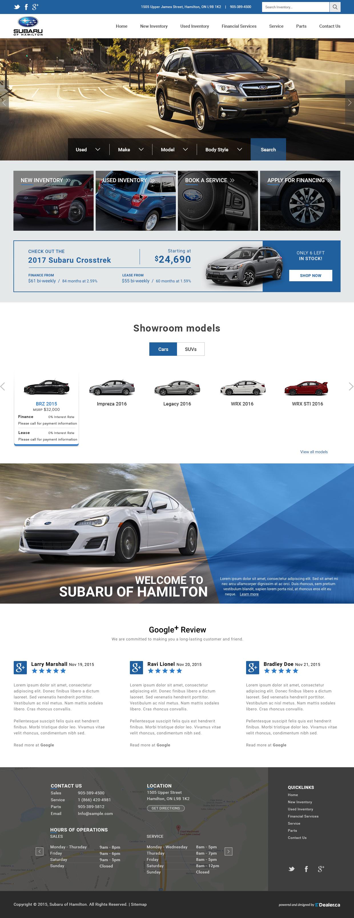 Subaru of Hamilton