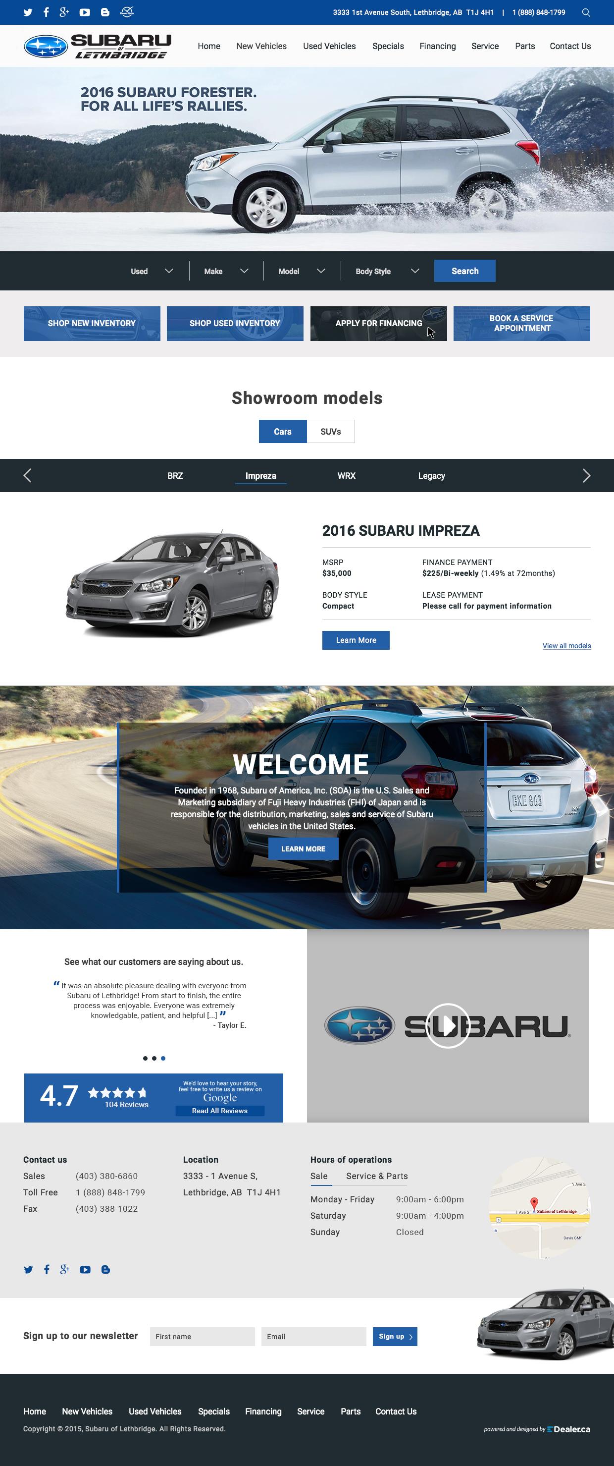 Subaru of Lethbridge