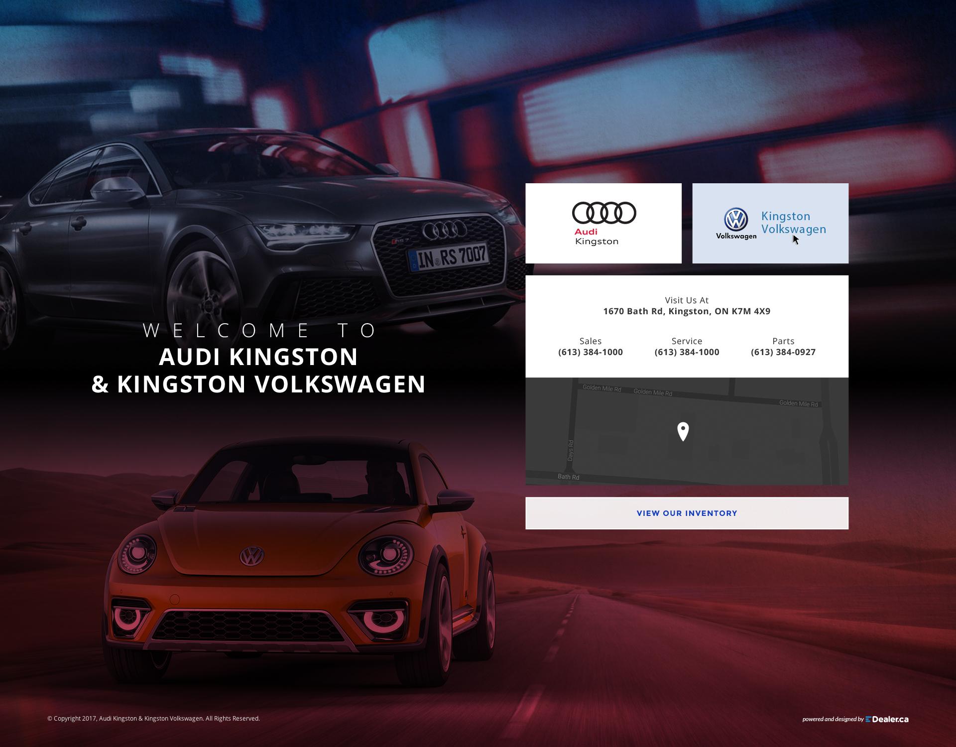 Audi Kingston & Kingston Volkswagen