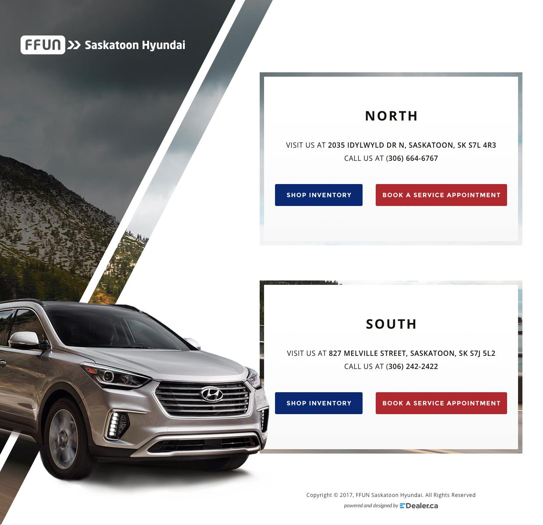 Saskatoon Hyundai South and North