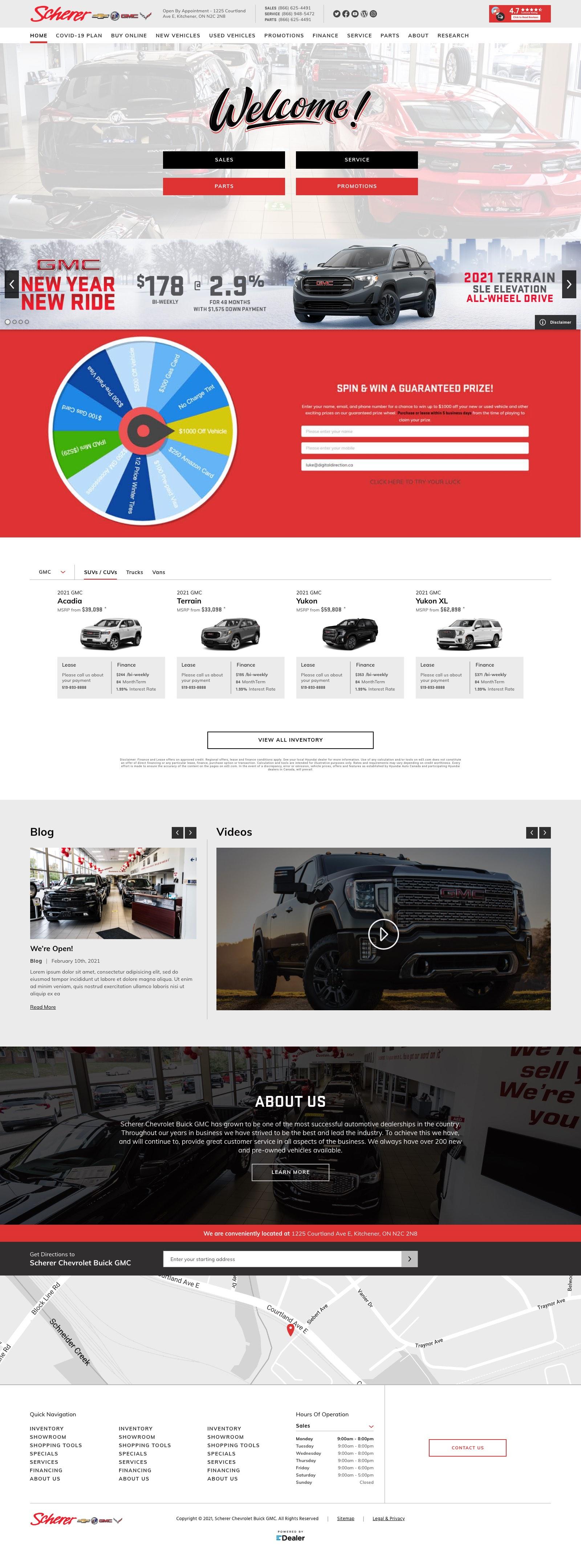 Scherer Chevrolet Buick GMC