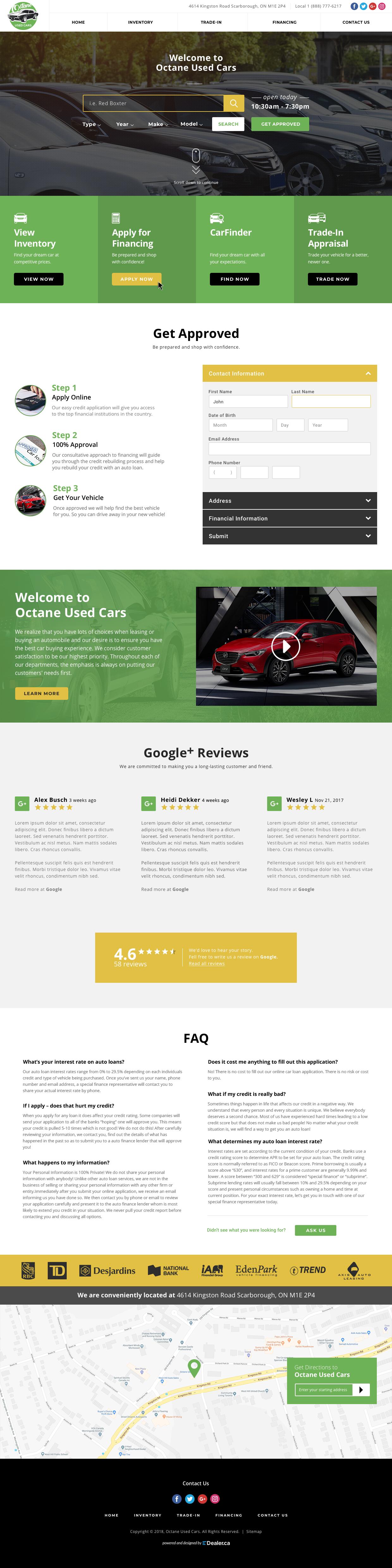 Octane Auto Sales