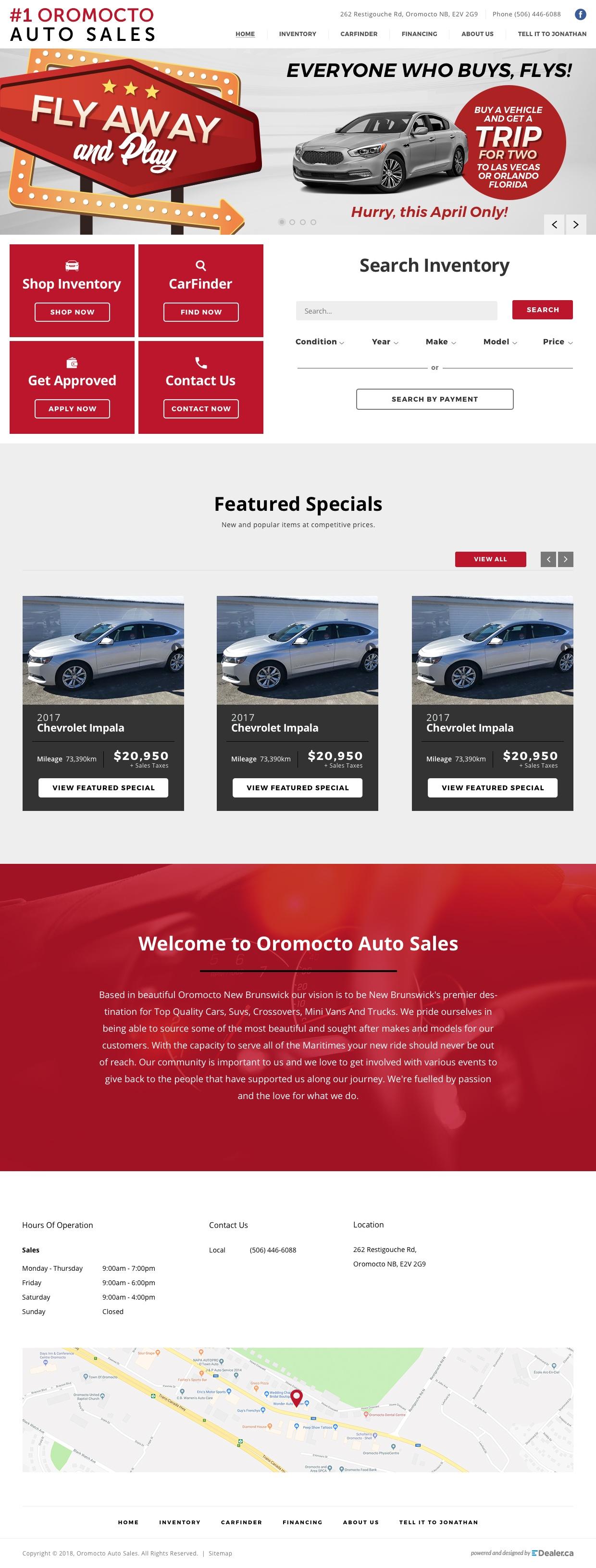 Oromocto Auto Sales