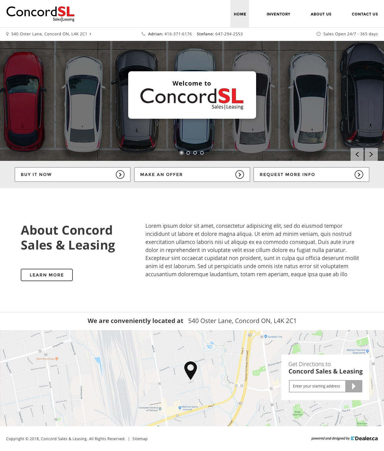 Concord Sales & Leasing