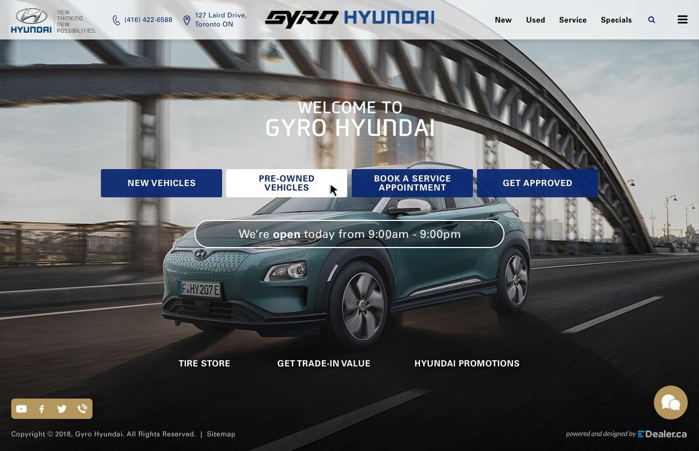 Gyro Hyundai