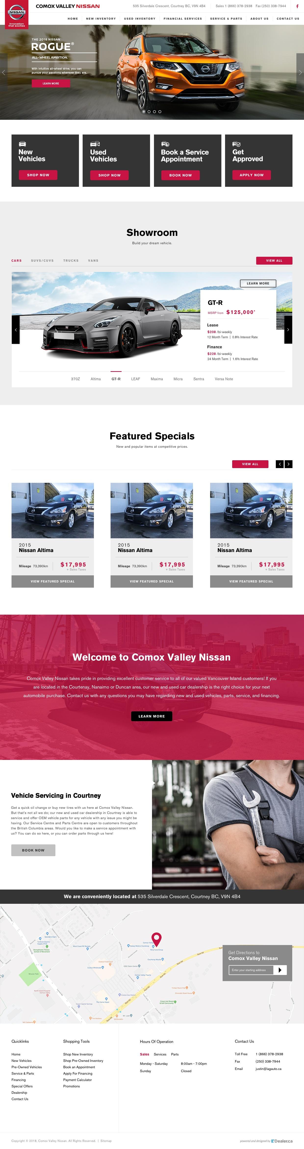 Comox Valley Nissan