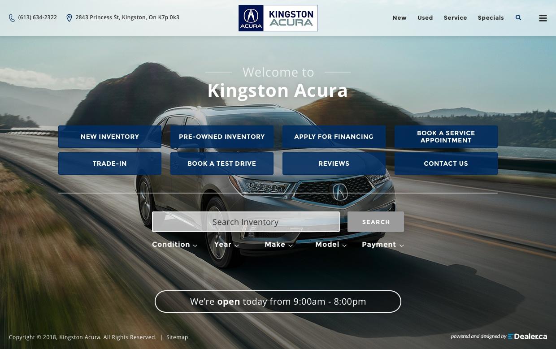 Kingston Acura