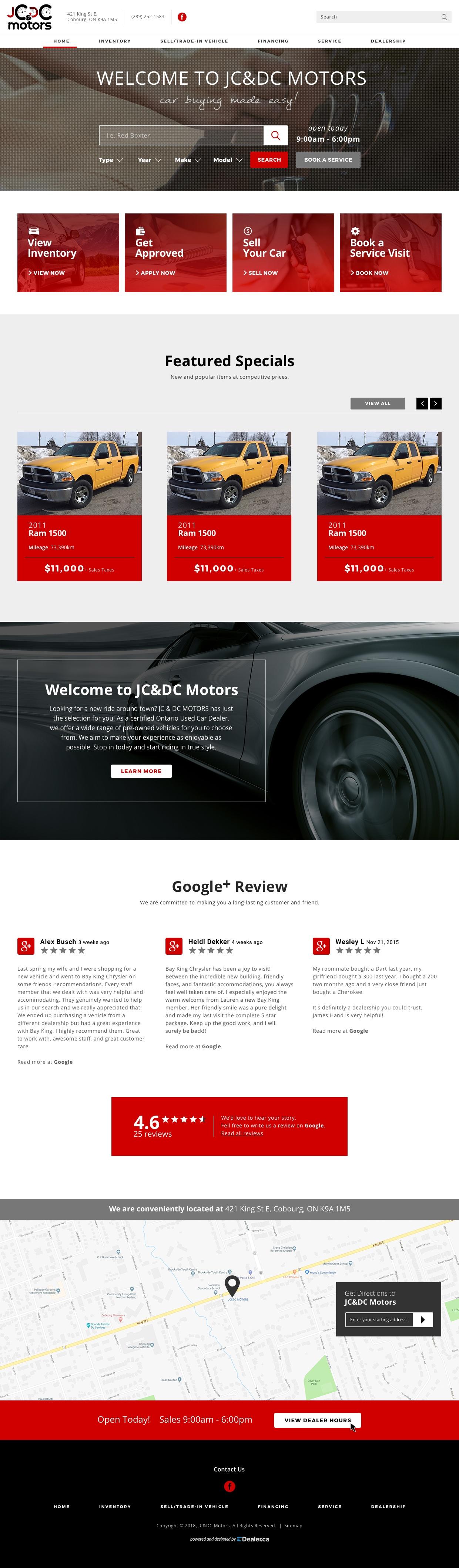 JC & DC Motoros