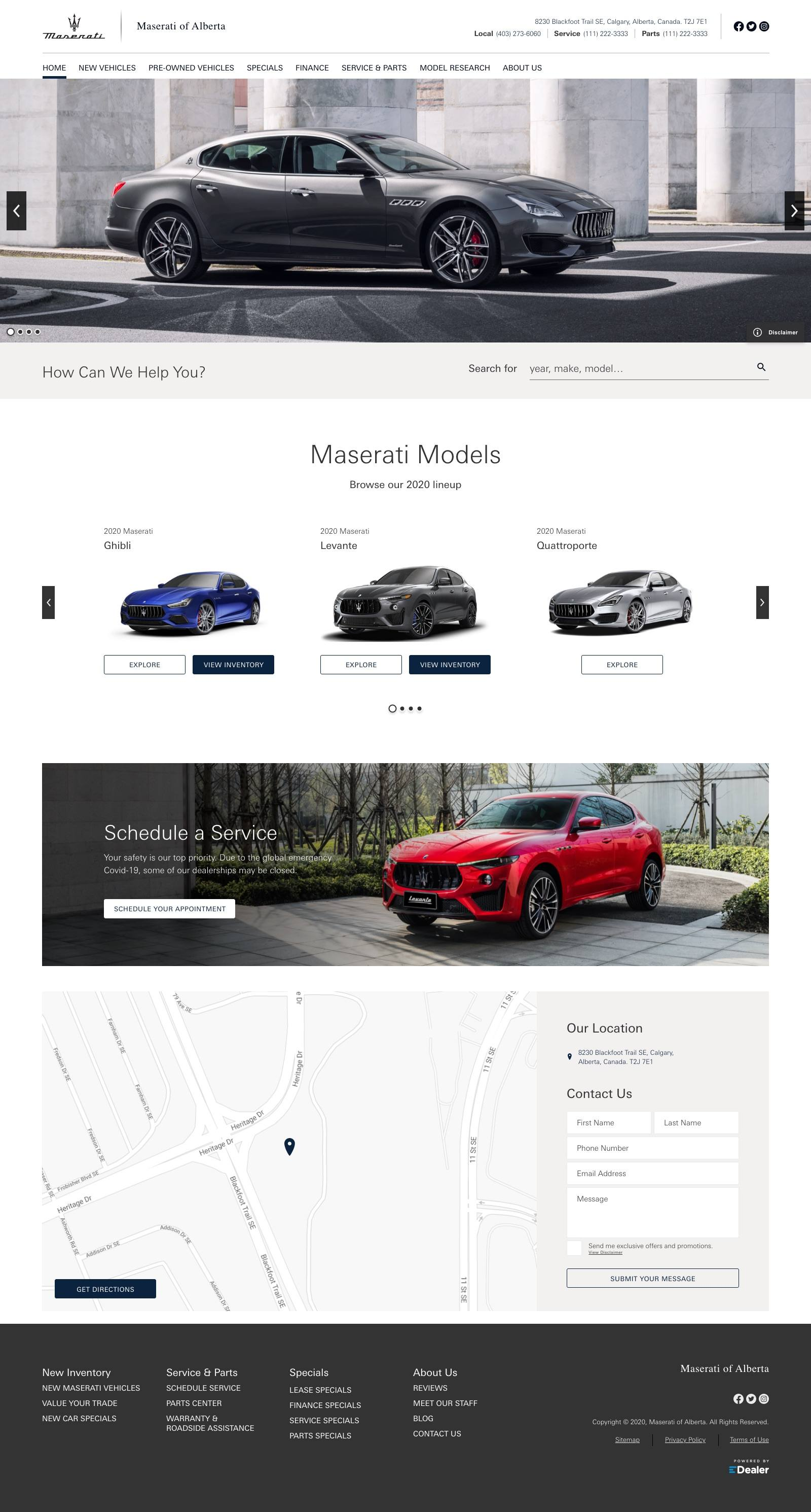 Maserati of Alberta