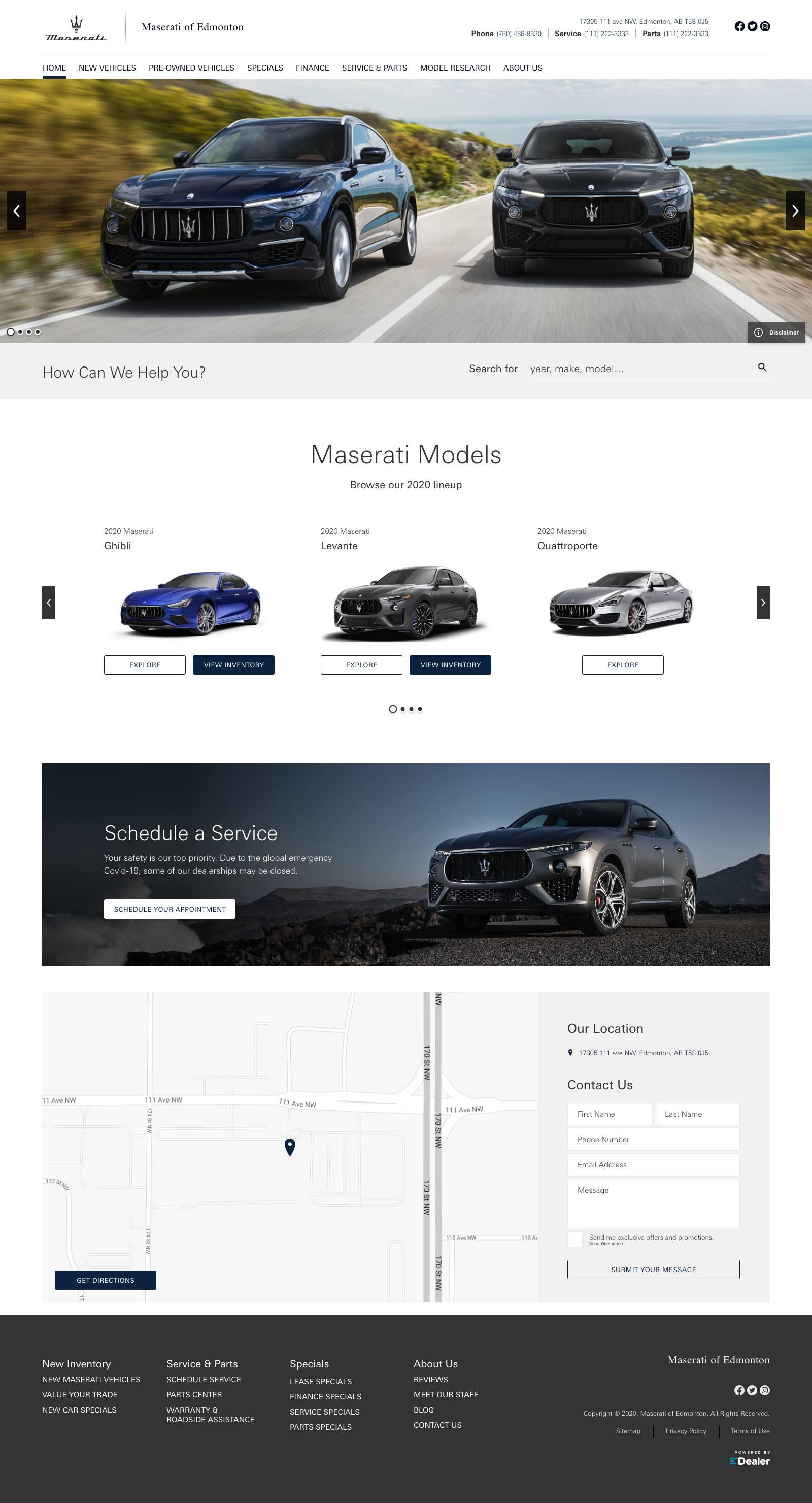 Maserati Of Edmonton