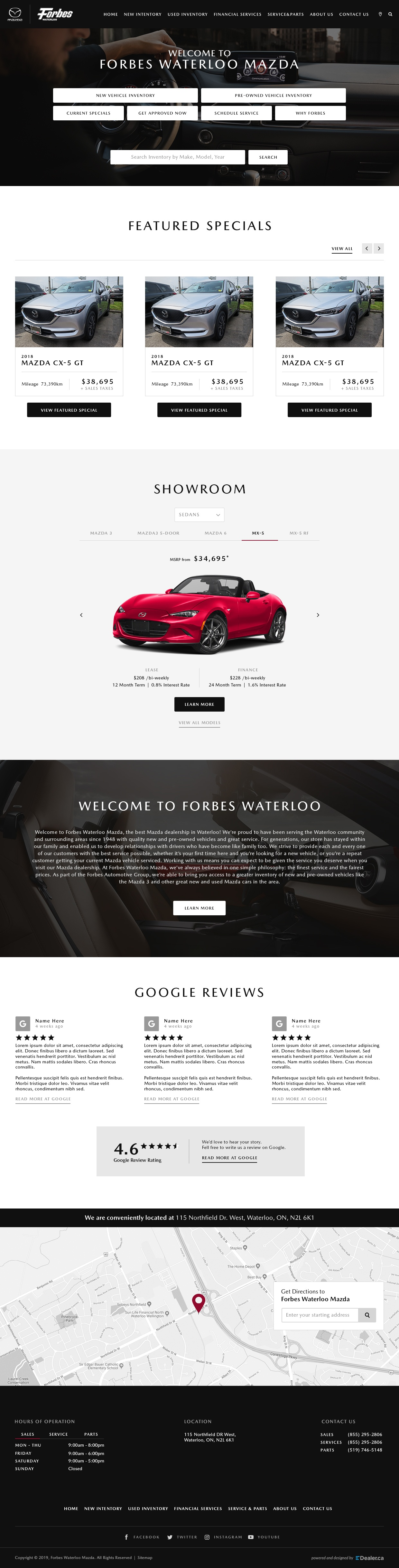 Forbes Waterloo Mazda