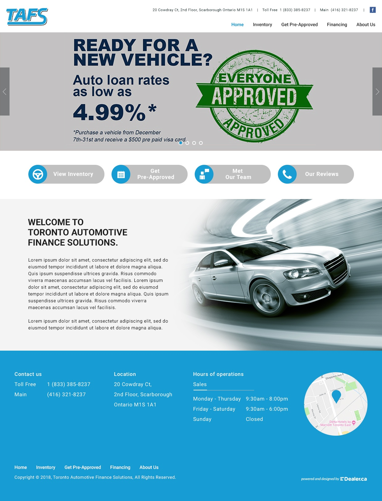 Toronto Automotive Finance Solutions