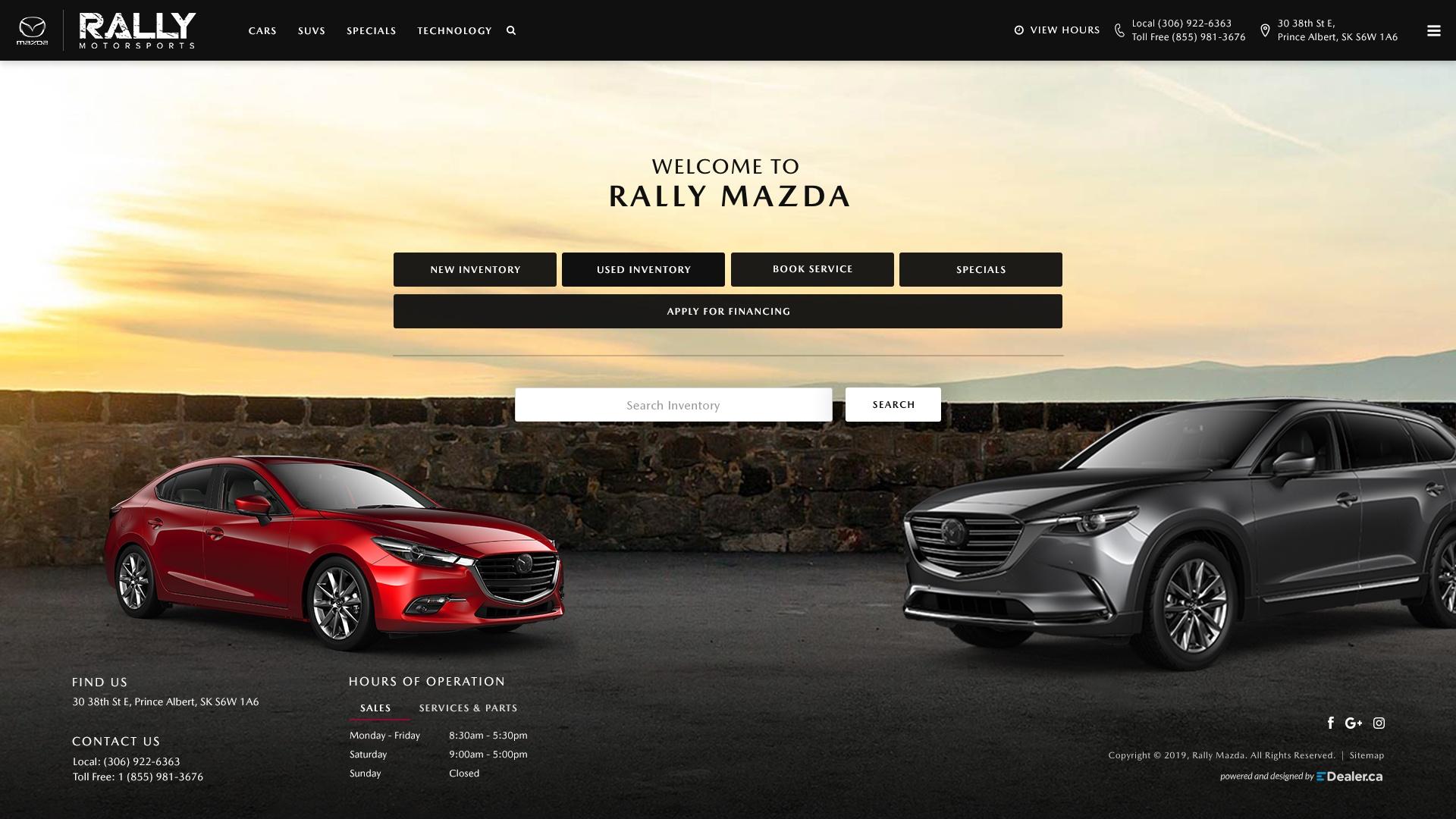 Rally Mazda