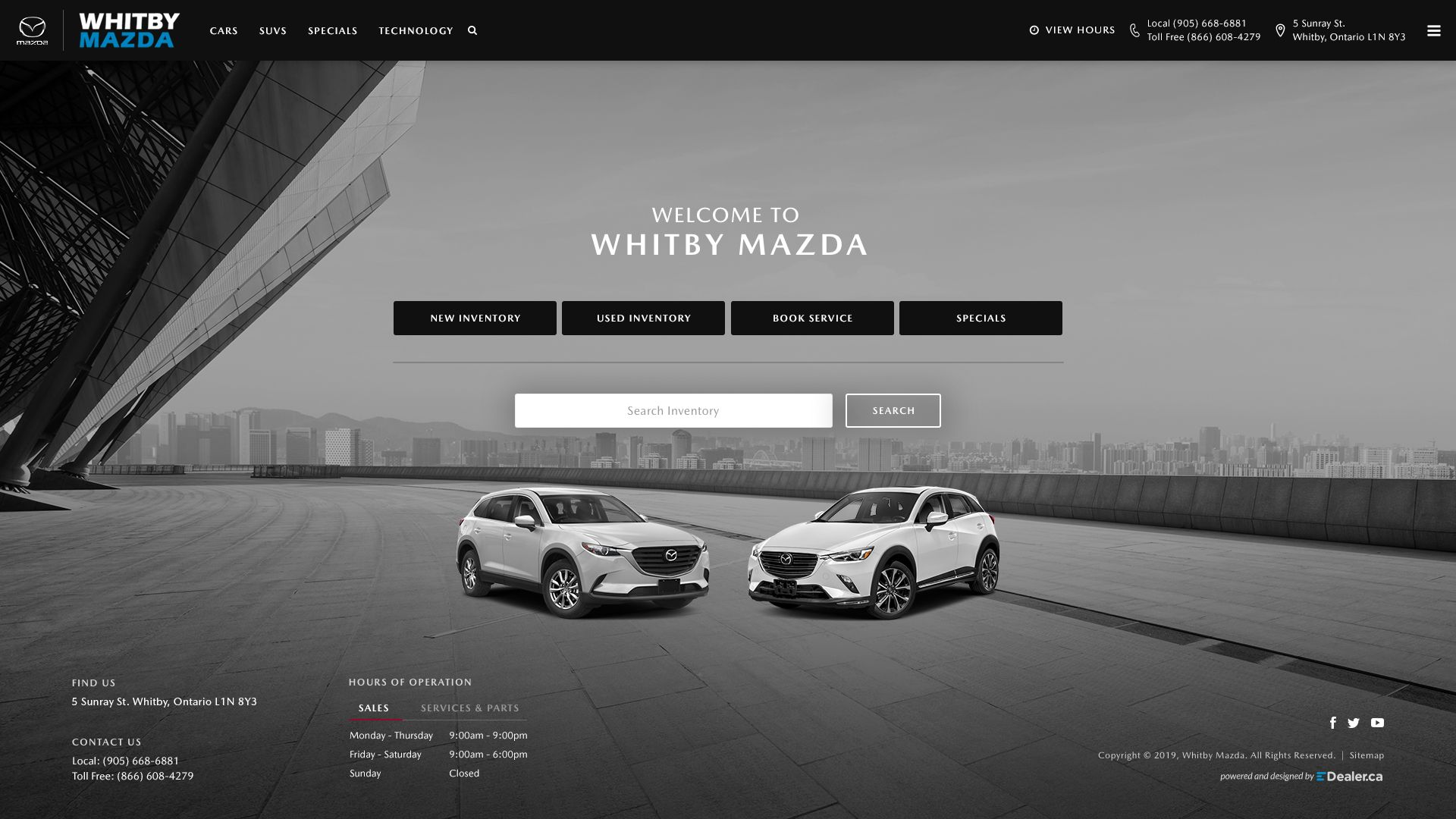 Whitby Mazda
