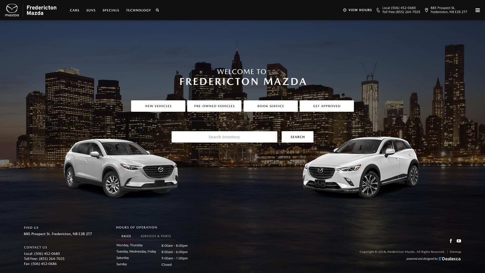 Fredericton Mazda