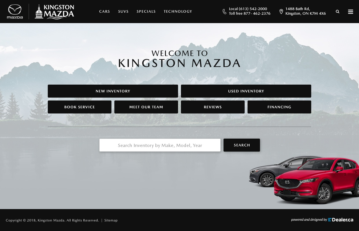 Kingston Mazda