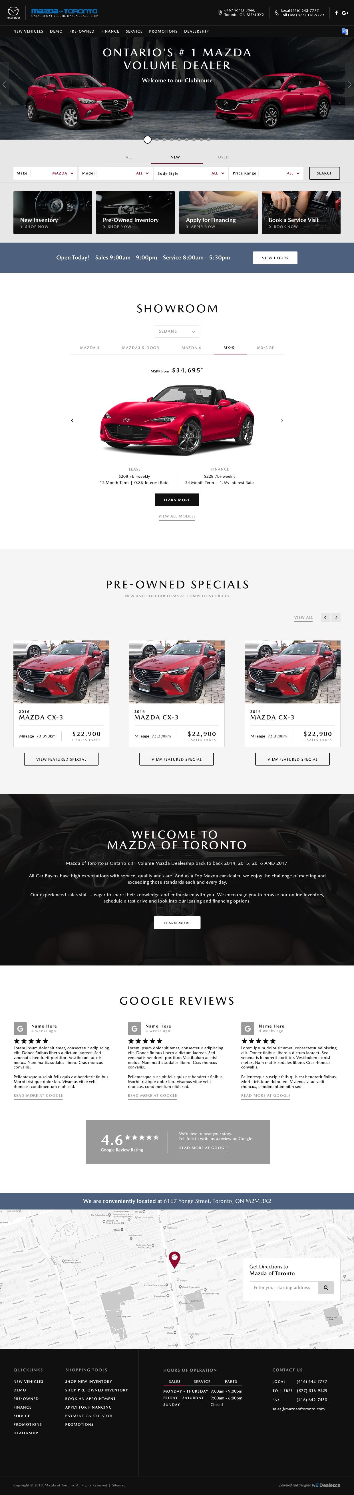 Mazda Of Toronto