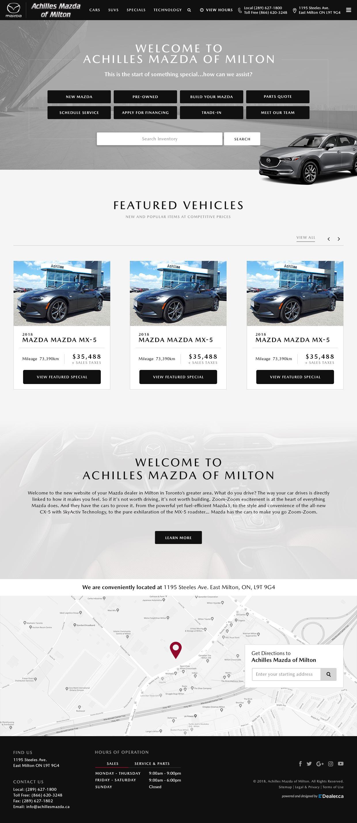 Achillies Mazda