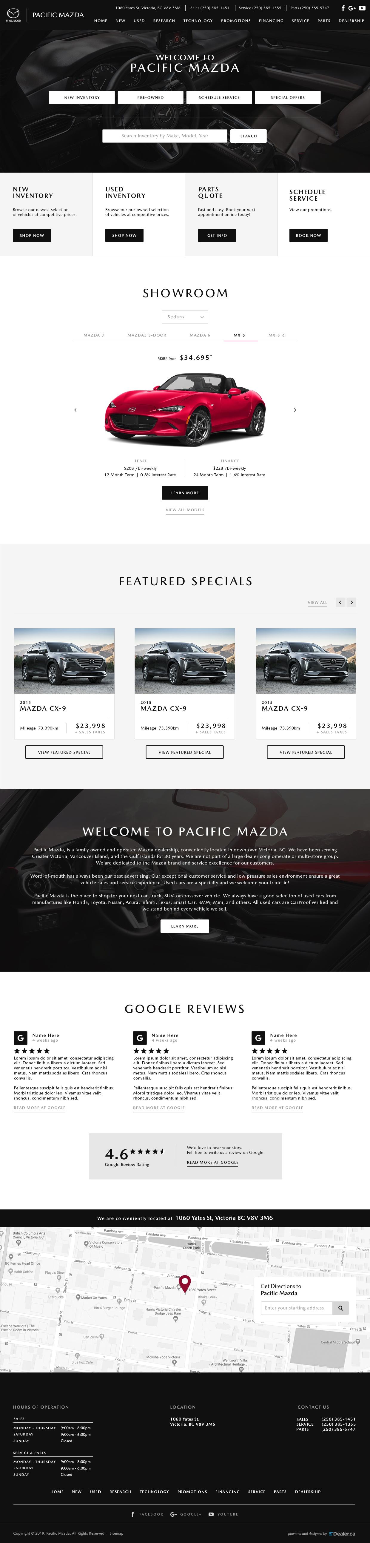 Pacific Mazda