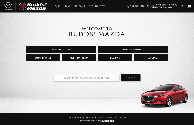 Budds' Mazda