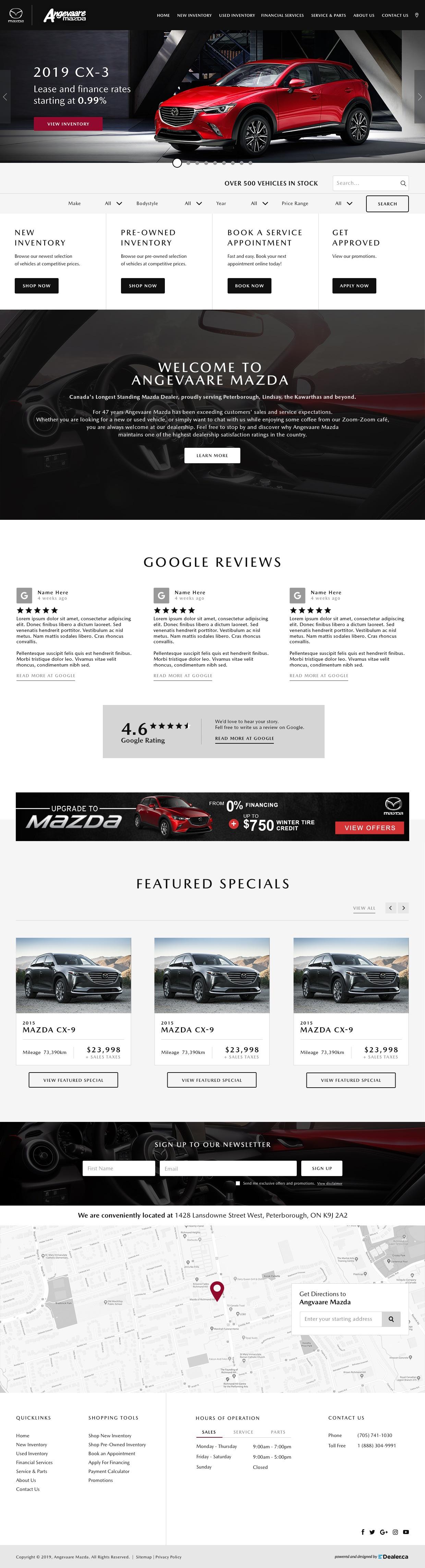 Angevaare Mazda