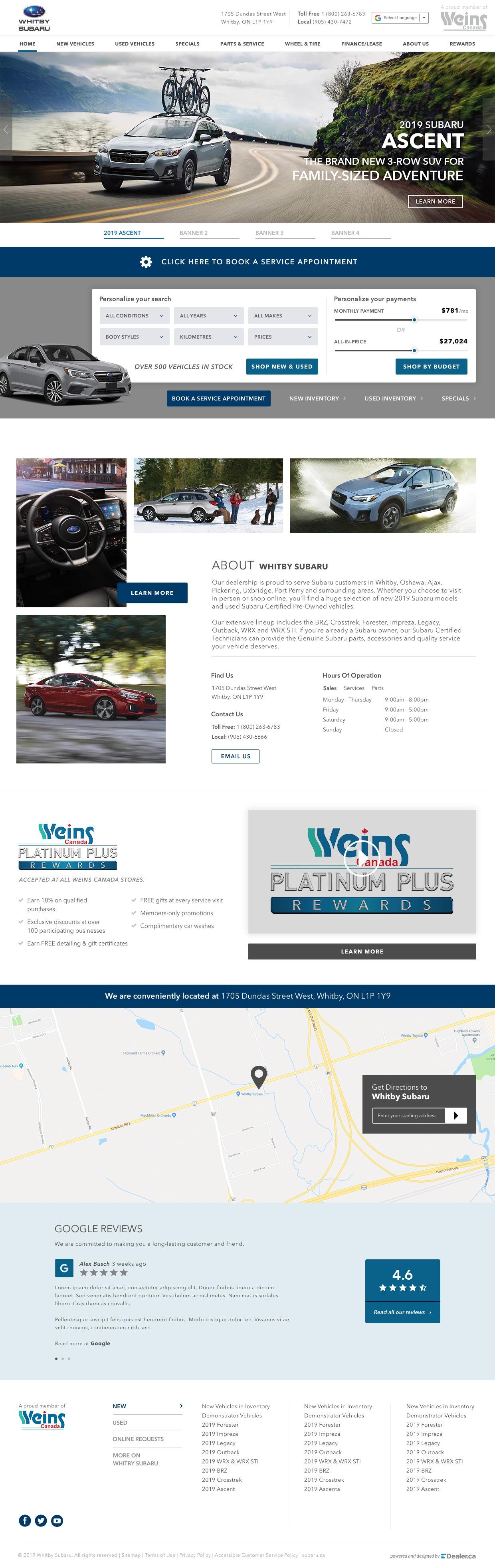 Whitby Subaru