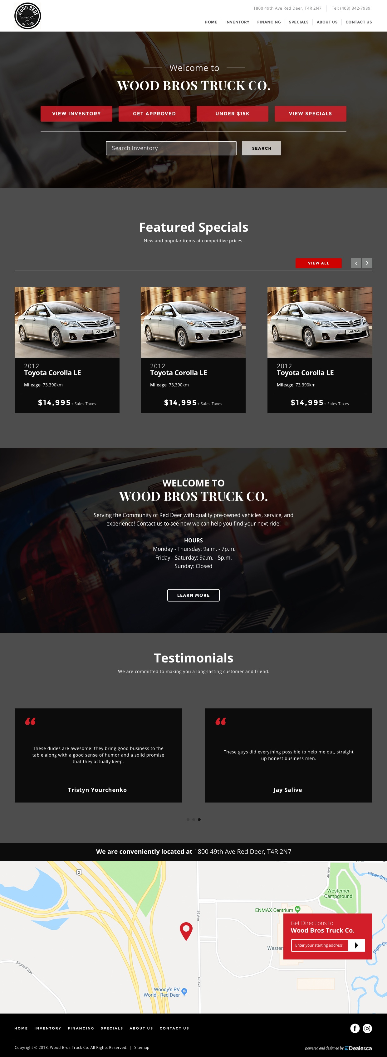Wood Bros Truck Co