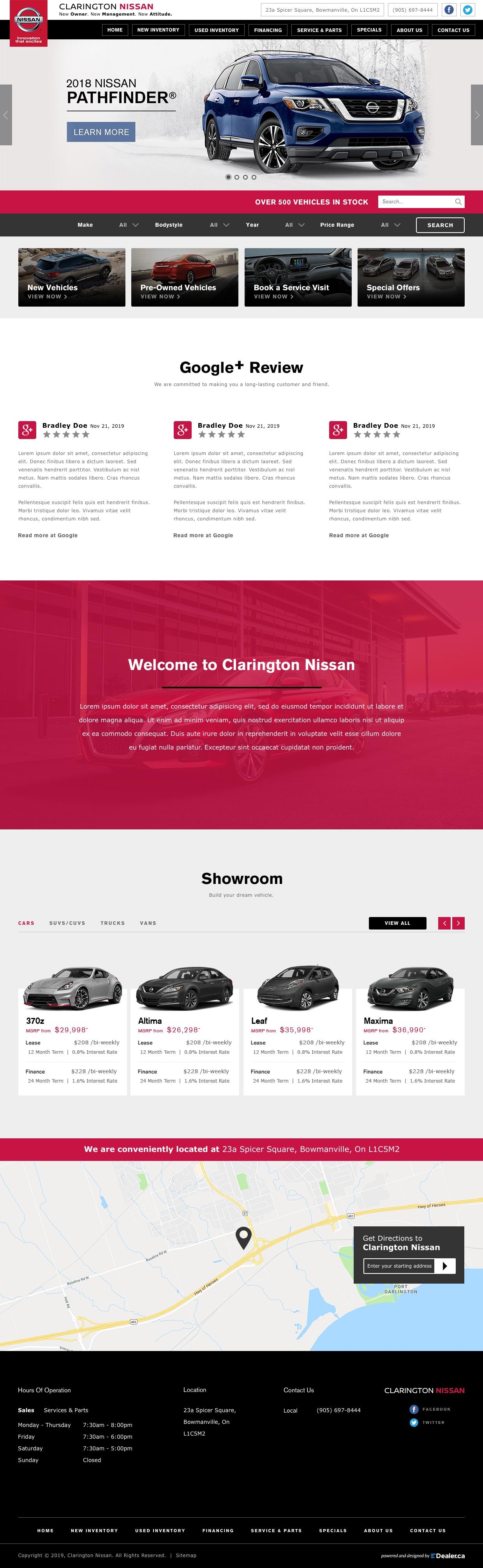 Clarington Nissan
