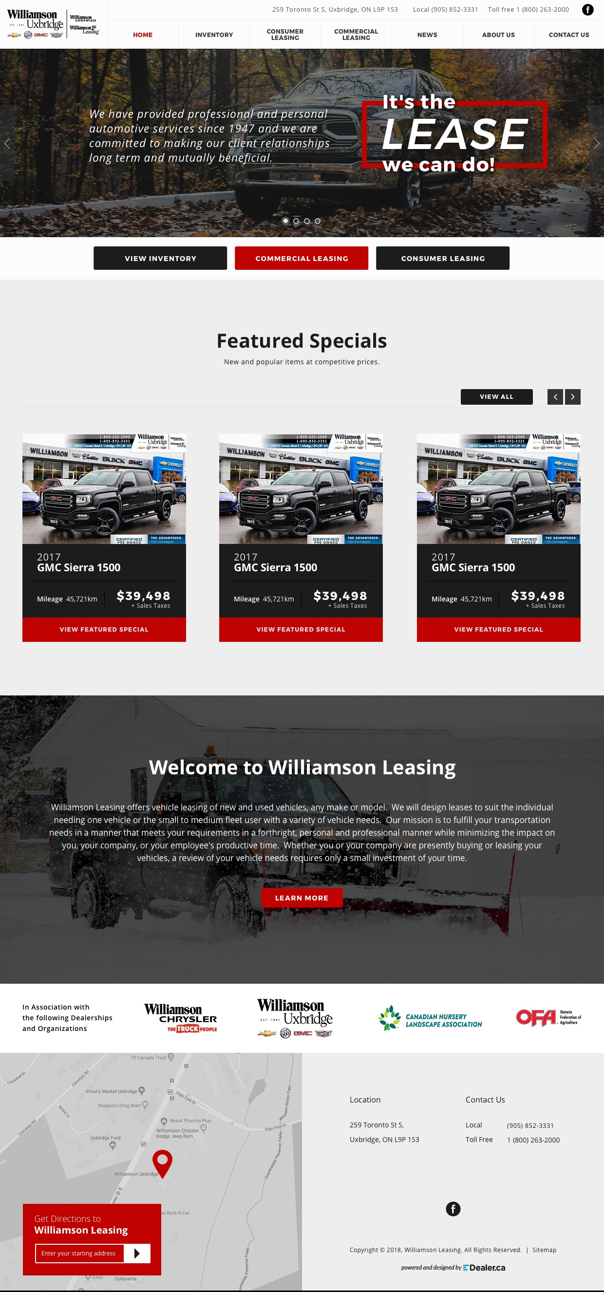 Williamson Leasing