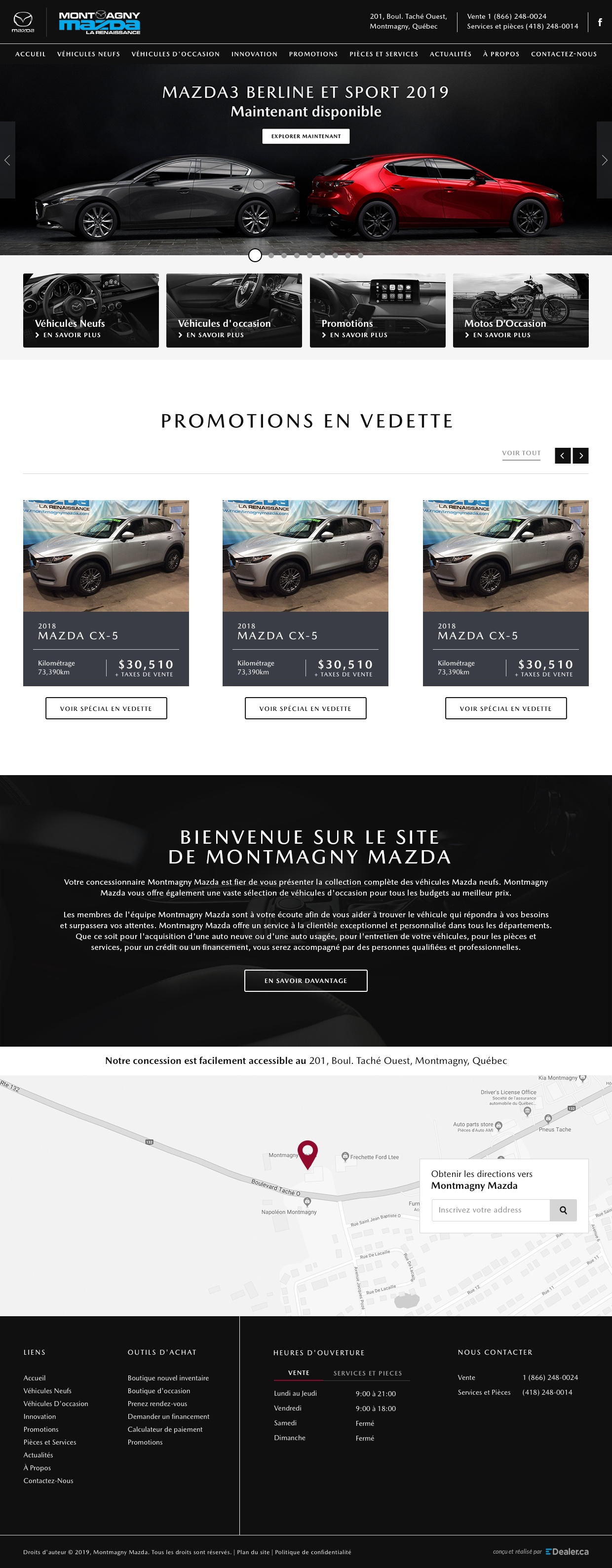 Montmagny Mazda