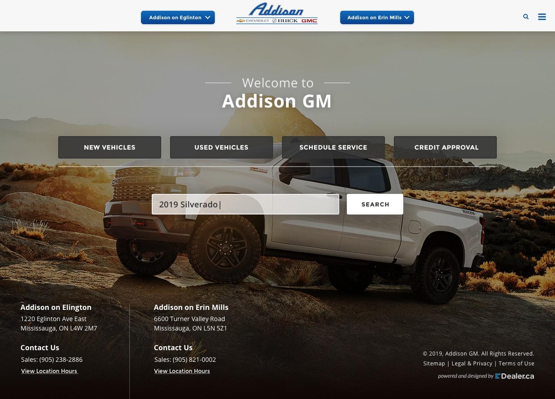 Addison GM