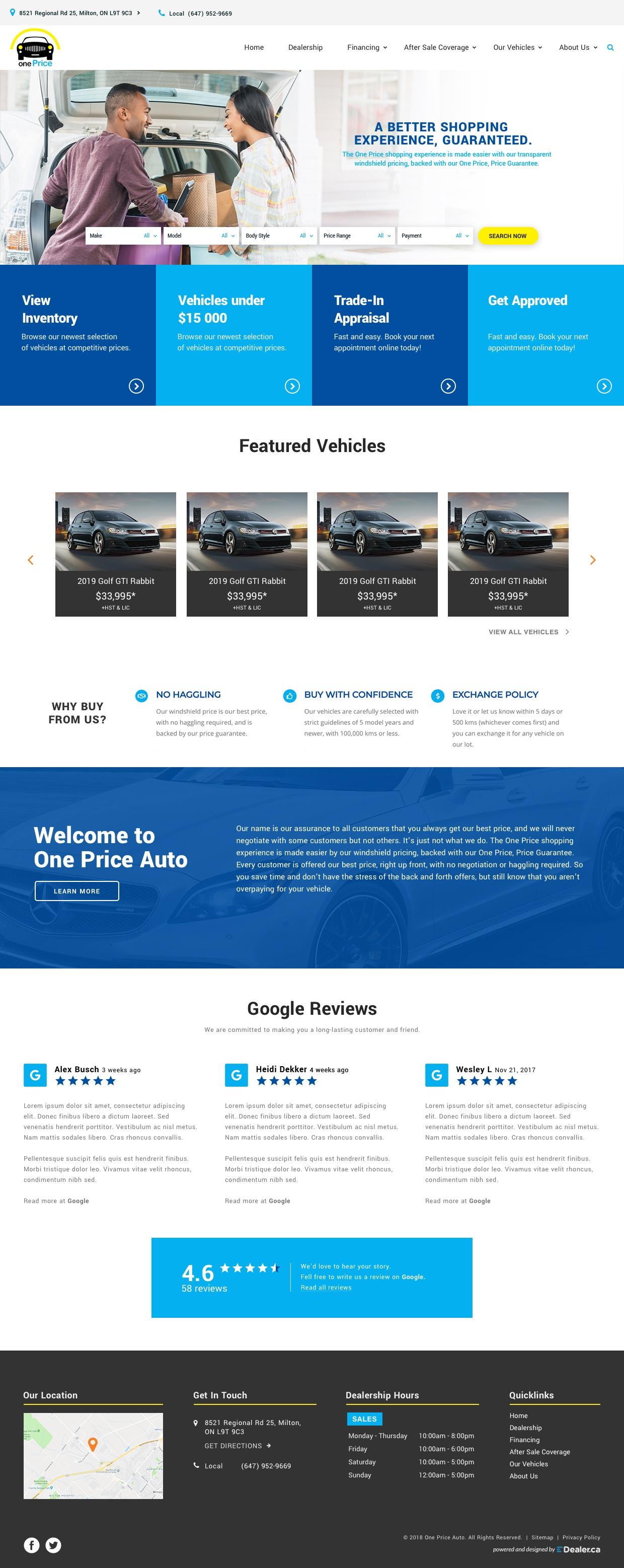 One Price Auto