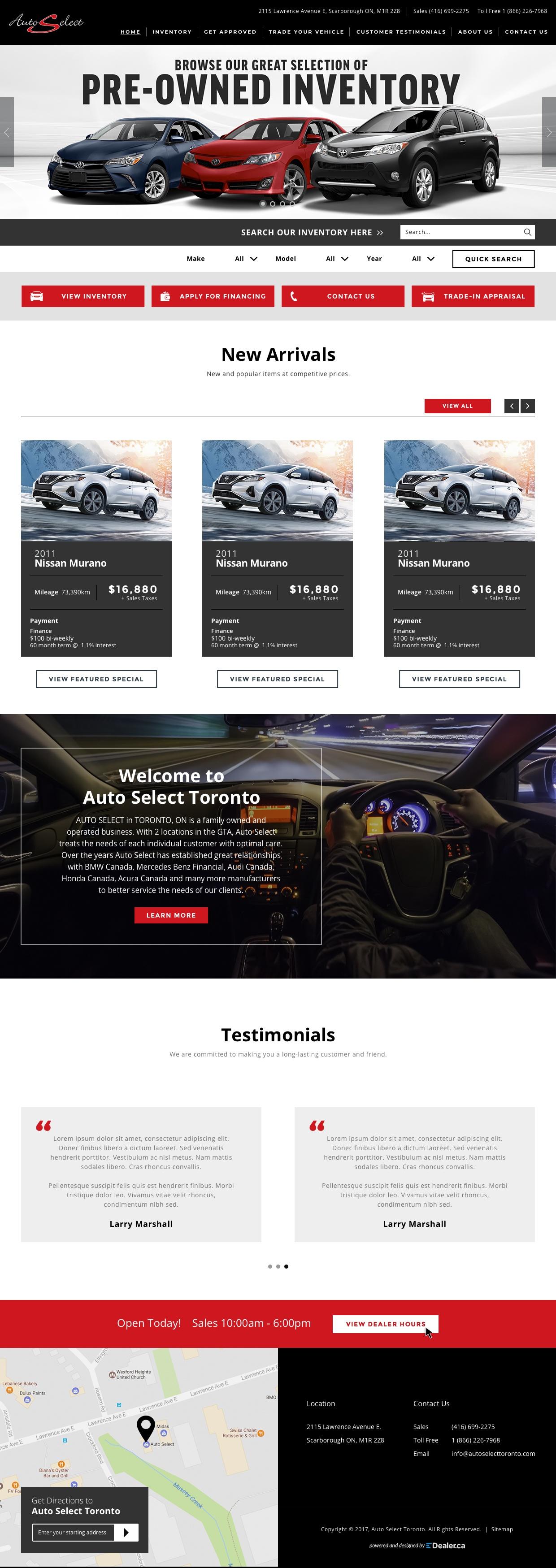 Auto Select Toronto