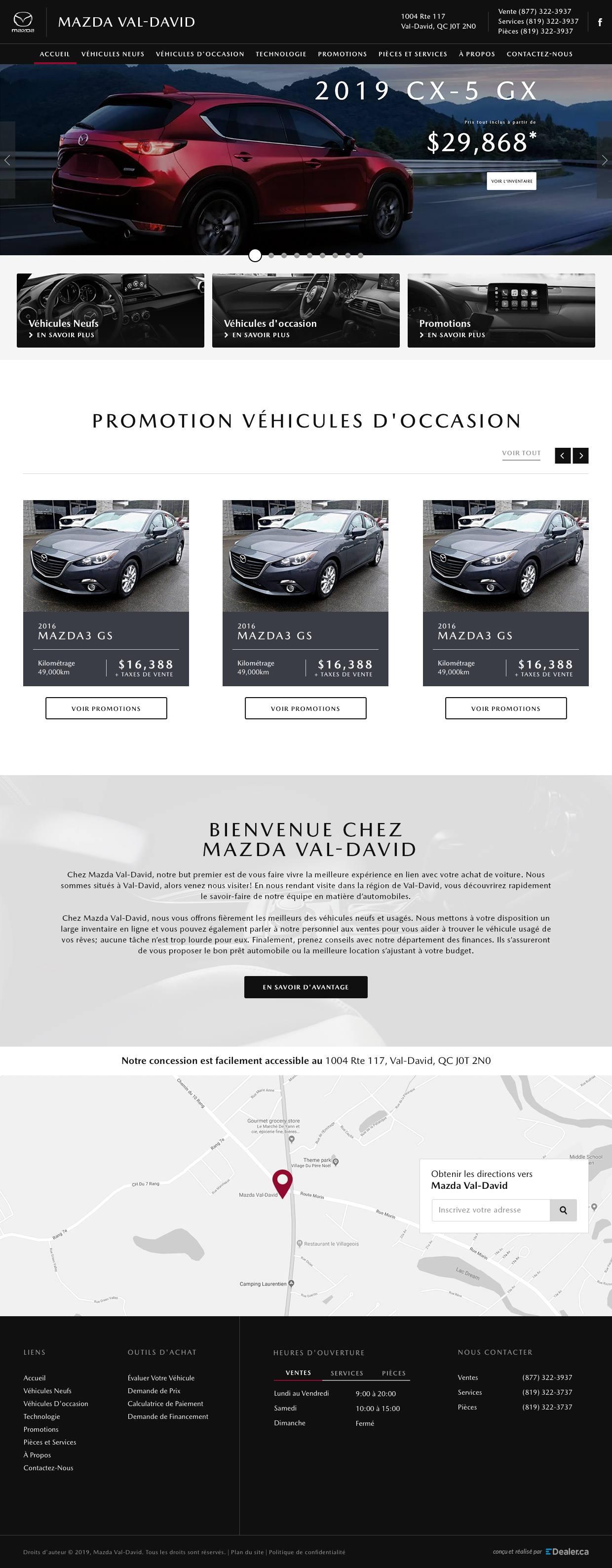 Mazda Val David