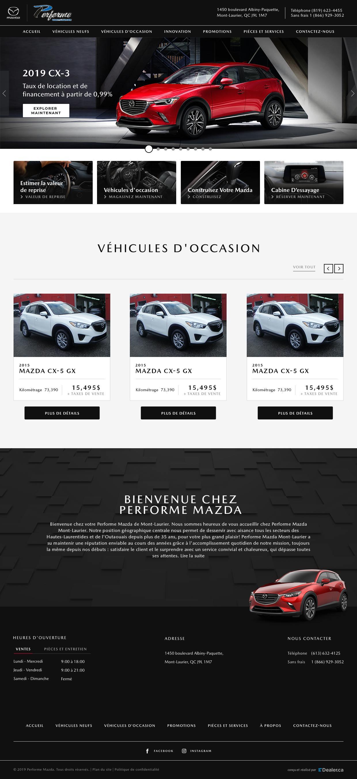 Performe Mazda
