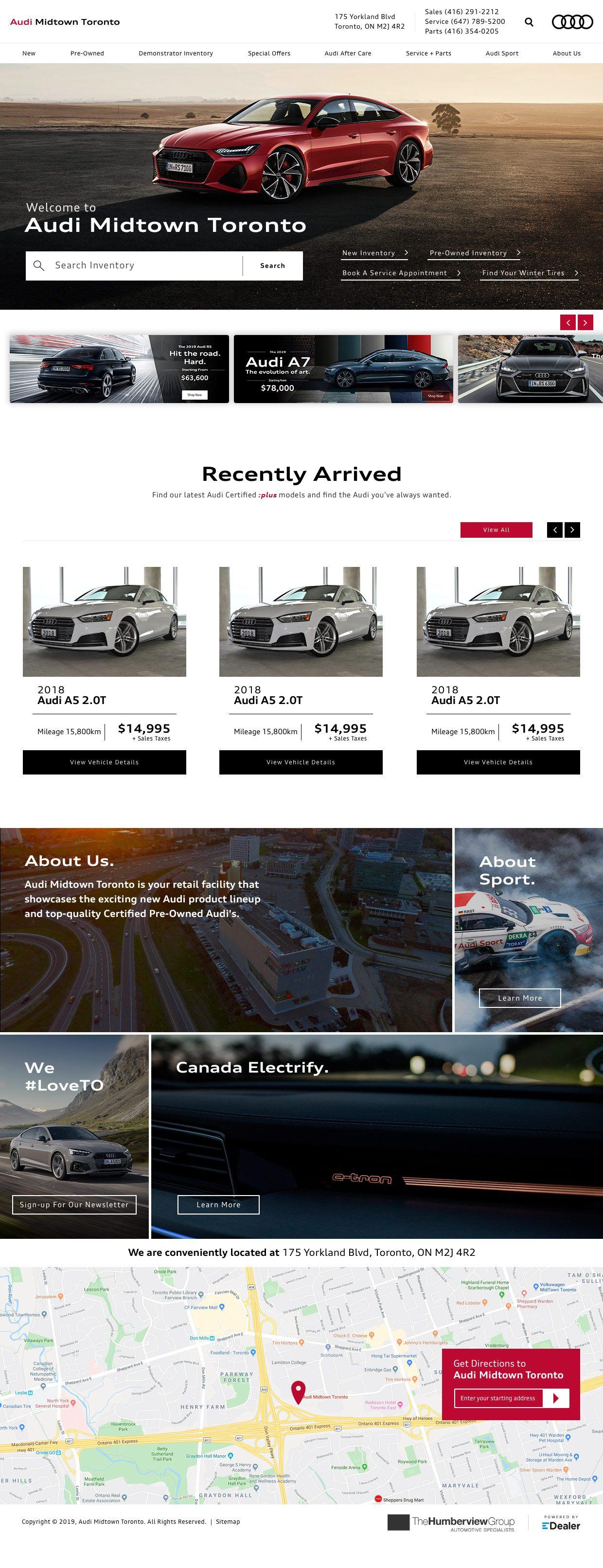Audi Midtown Toronto