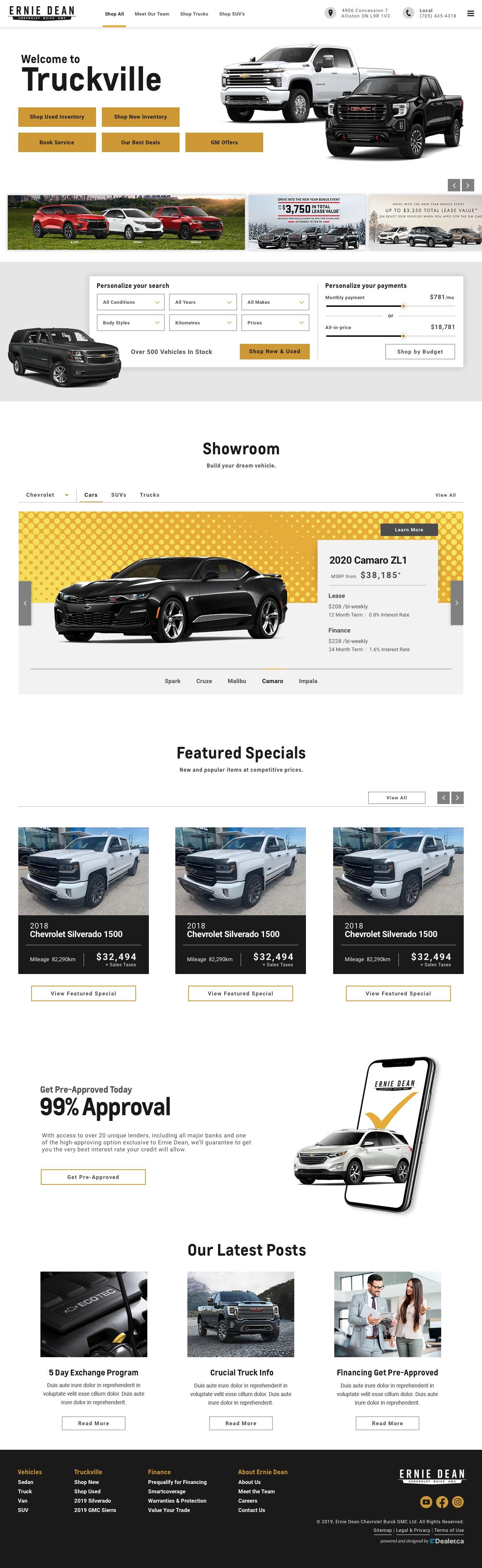 Ernie Dean Chevrolet Buick GMC Ltd