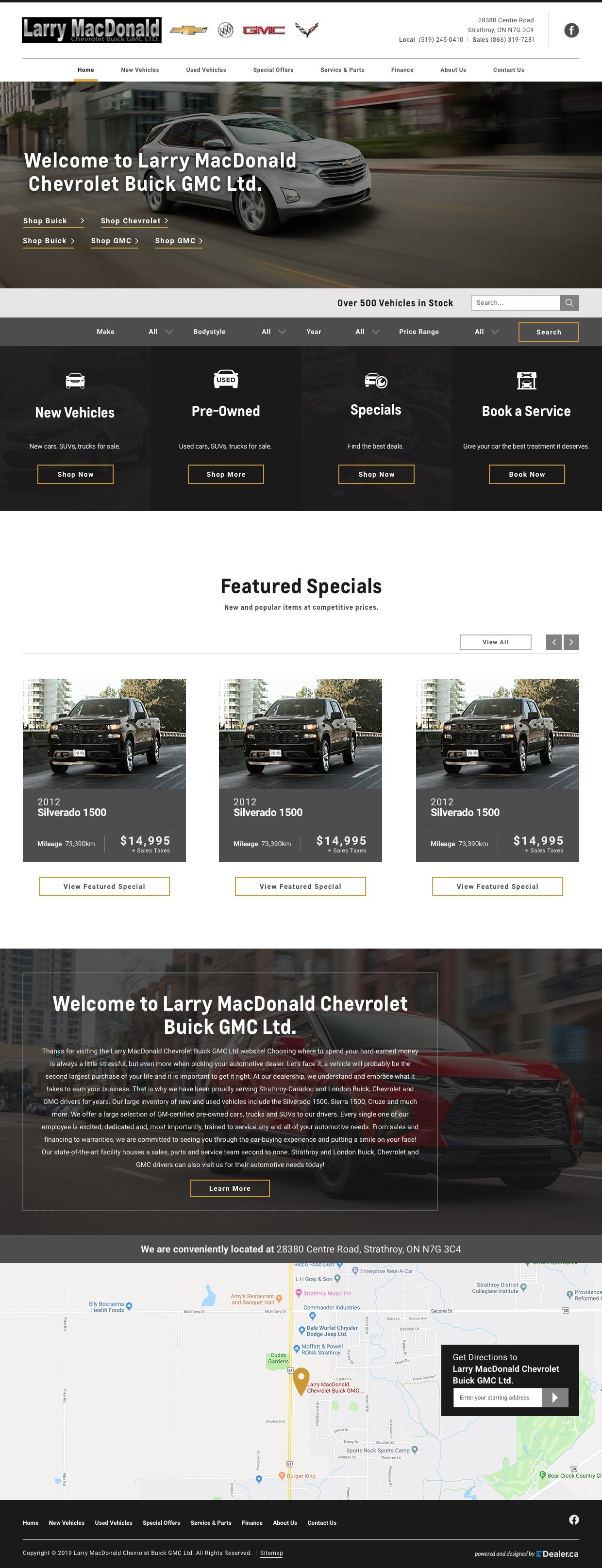 Larry MacDonald Chevrolet Buick GMC Ltd
