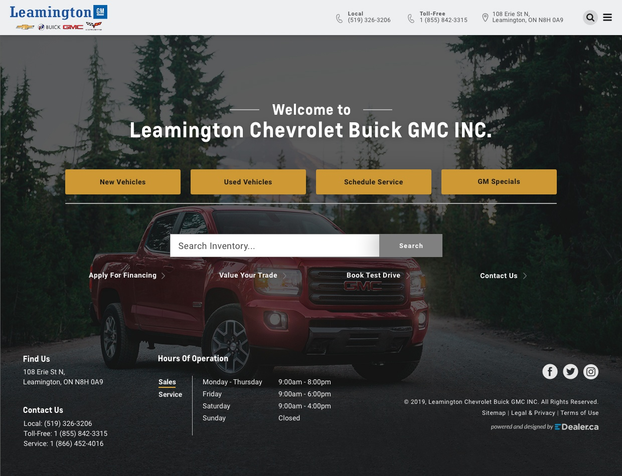 Leamington Chevrolet Buick GMC Inc
