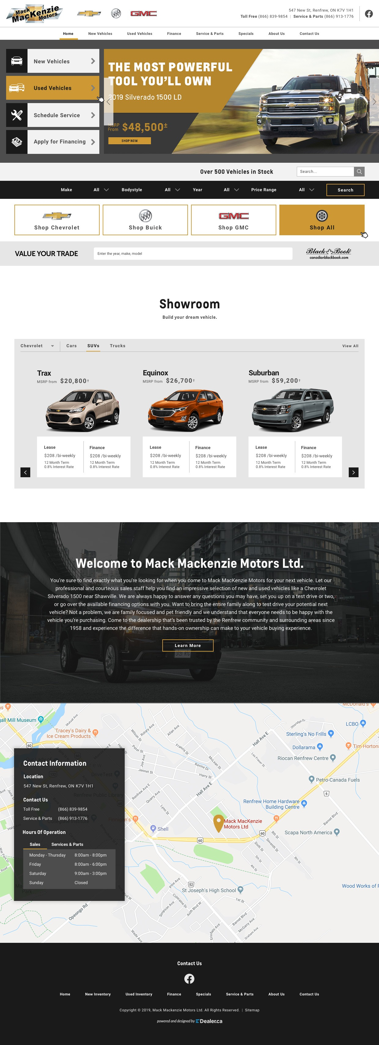 Mack MacKenzie Motors Limited