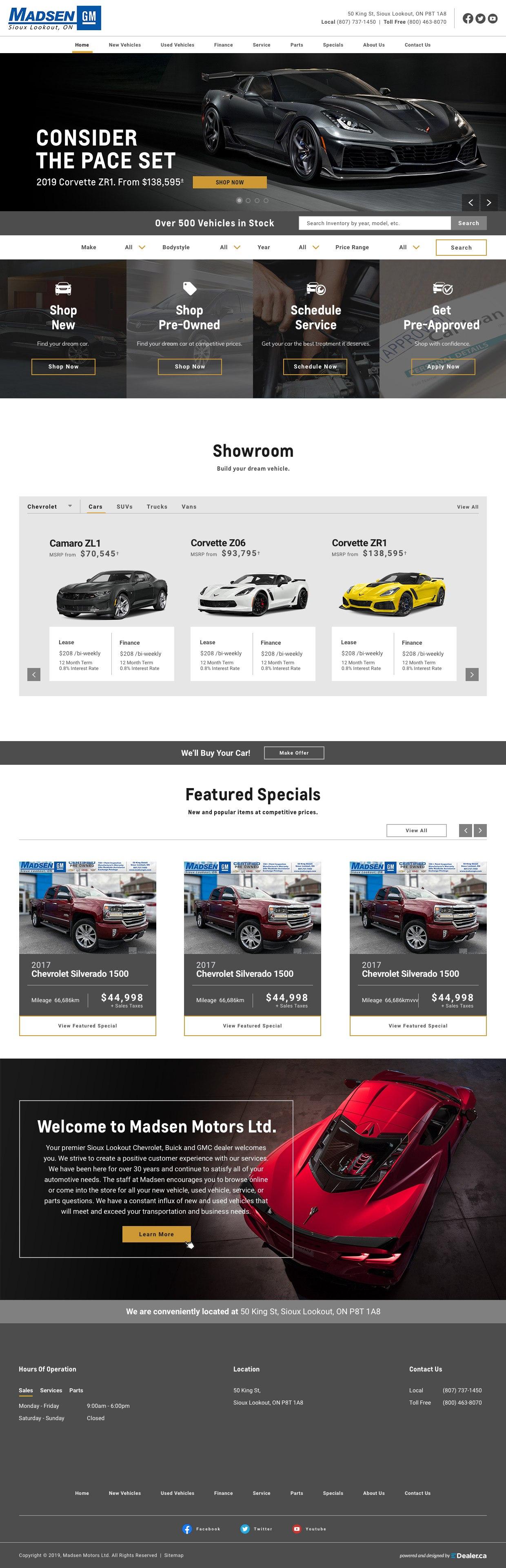 Madsen Motors Ltd